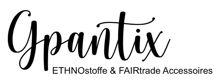 Gpantix * ETHNOstoffe & FAIRtrade Accessoires * jetzt kaufen!-Logo