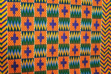 GREEN MOUNTAIN PEAKS kente