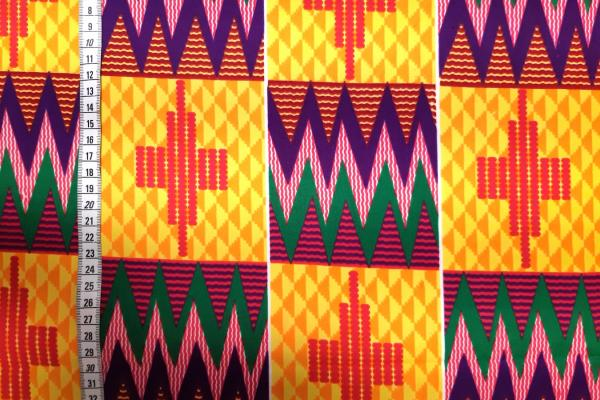 PURPLE MOUNTAIN PEAKS kente