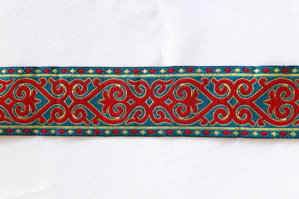 RED TURQUOISE Webband